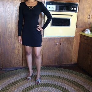 Dresses & Skirts - LBD with Tie Neck